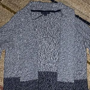 Long cozy sweater